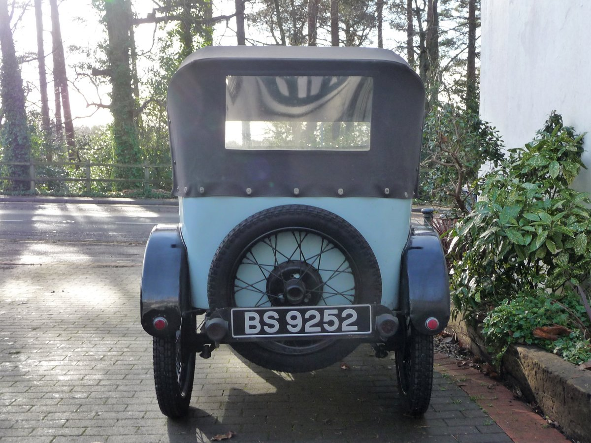 1924 Austin Seven 'Pram Hood' Chummy For Sale by Auction (picture 4 of 24)