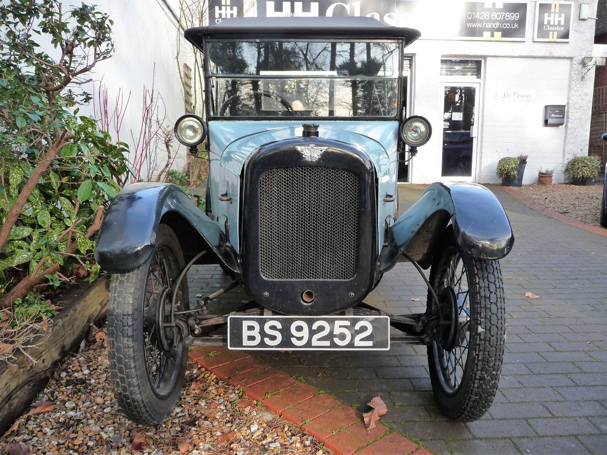 1924 Austin Seven 'Pram Hood' Chummy For Sale by Auction (picture 8 of 24)