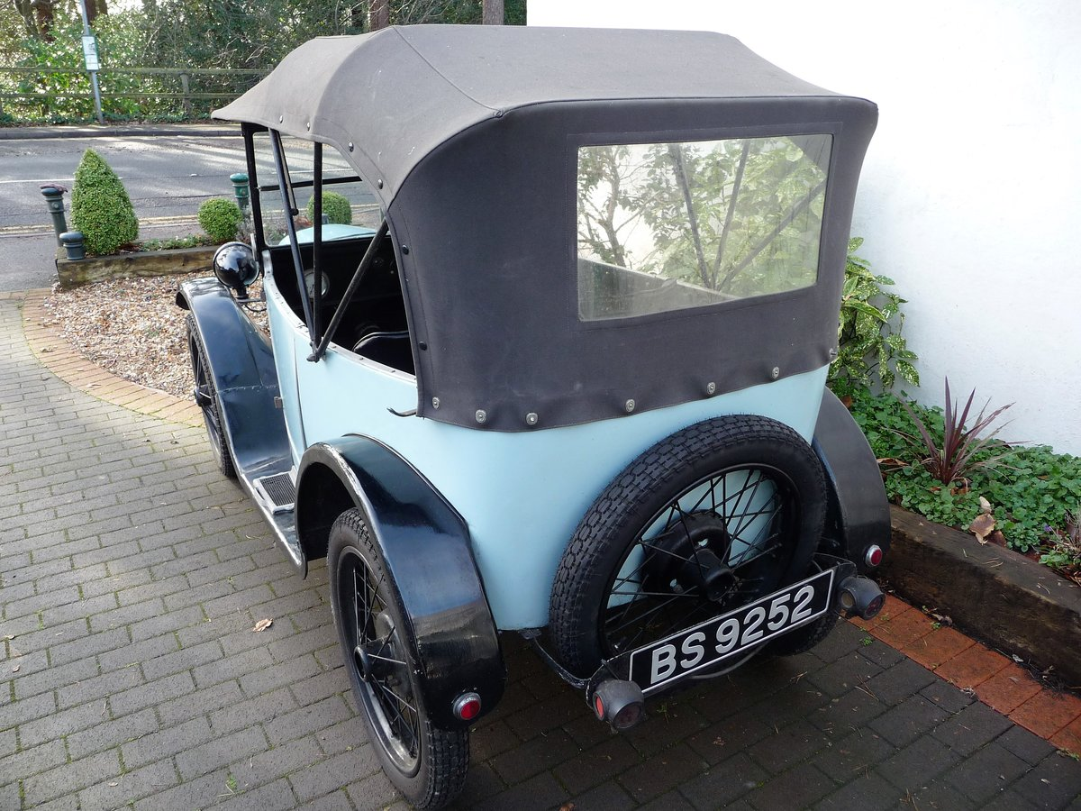 1924 Austin Seven 'Pram Hood' Chummy For Sale by Auction (picture 19 of 24)