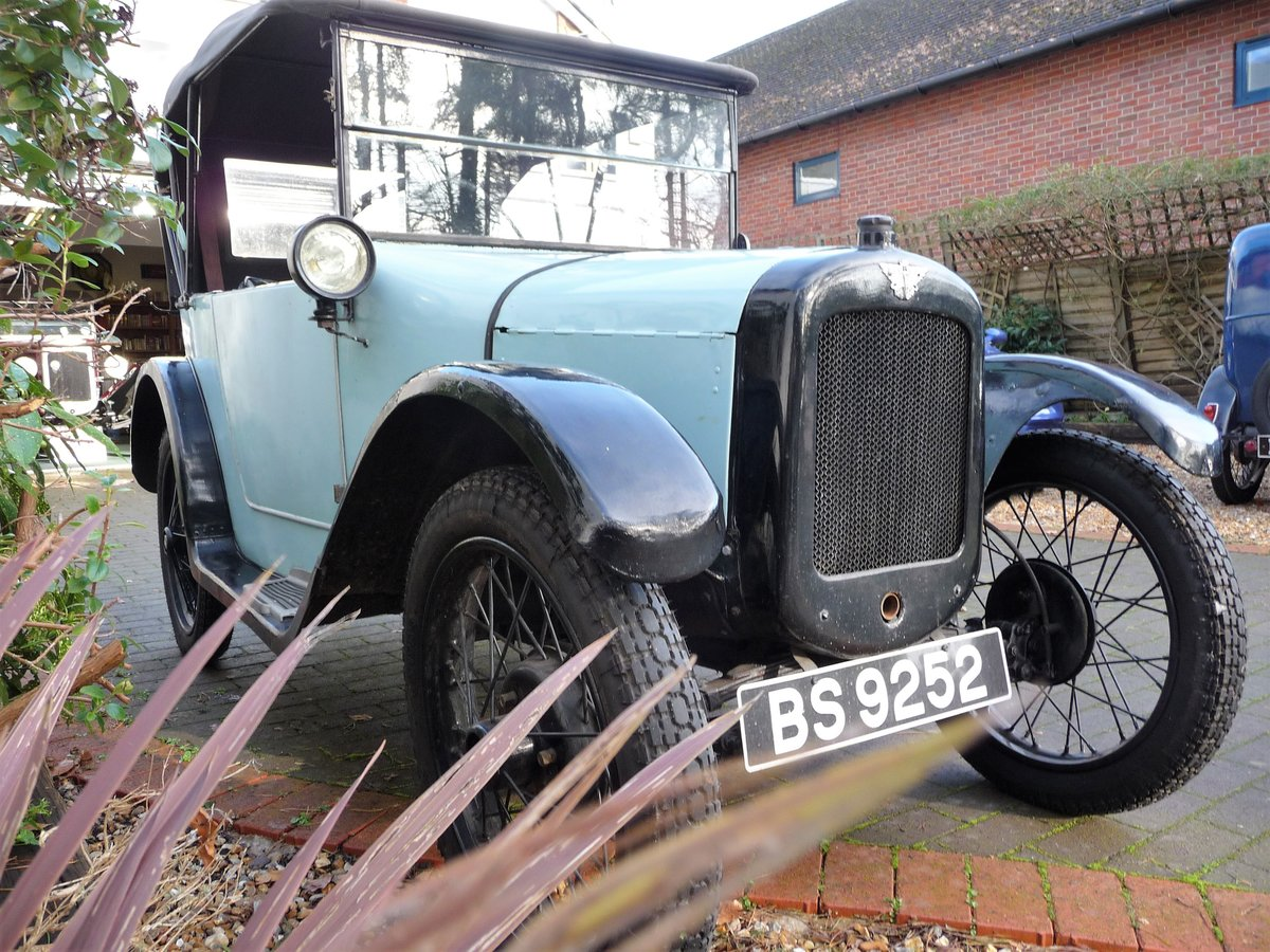1924 Austin Seven 'Pram Hood' Chummy For Sale by Auction (picture 20 of 24)