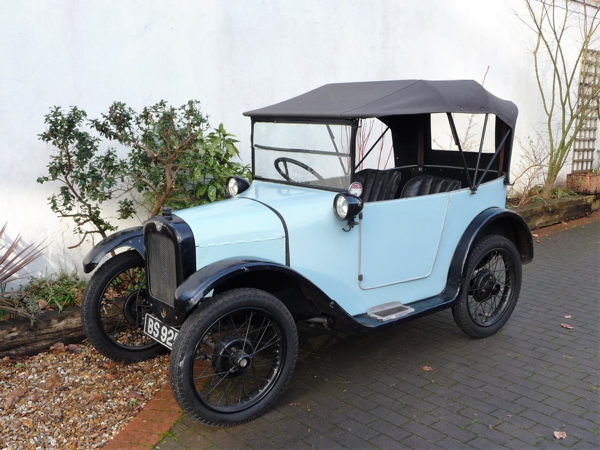 1924 Austin Seven 'Pram Hood' Chummy For Sale by Auction (picture 22 of 24)