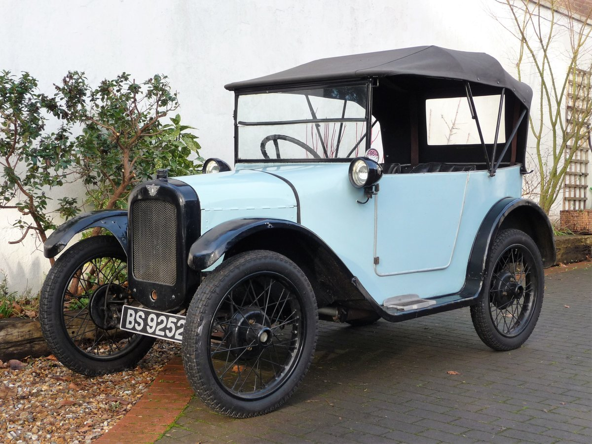 1924 Austin Seven 'Pram Hood' Chummy For Sale by Auction (picture 23 of 24)