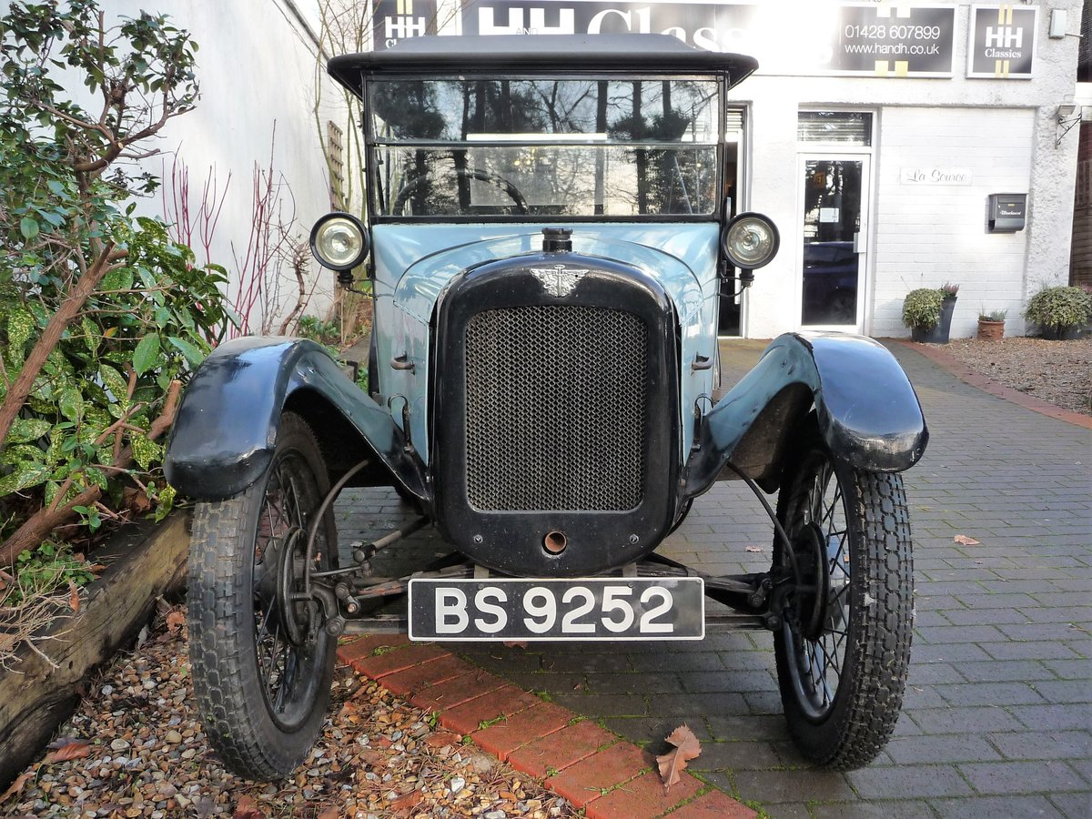 1924 Austin Seven 'Pram Hood' Chummy For Sale by Auction (picture 24 of 24)