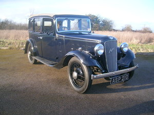 Picture of 1935 Austin Light Twelve-Four Ascot Tickford Roof Conversion For Sale