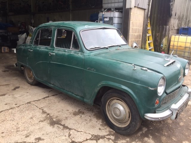1958 AUSTIN A50 STORED SINCE 1975 For Sale (picture 1 of 11)