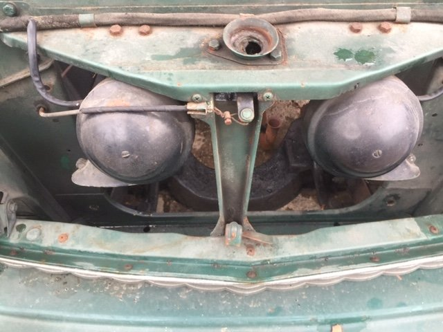 1958 AUSTIN A50 STORED SINCE 1975 For Sale (picture 11 of 11)