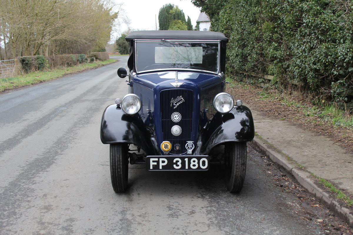 1937 Austin 7 Opal Two Seat Tourer - Very Rare Model For Sale (picture 2 of 16)