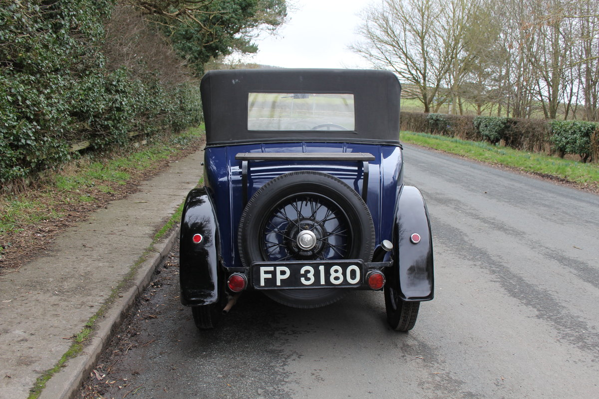 1937 Austin 7 Opal Two Seat Tourer - Very Rare Model For Sale (picture 5 of 16)