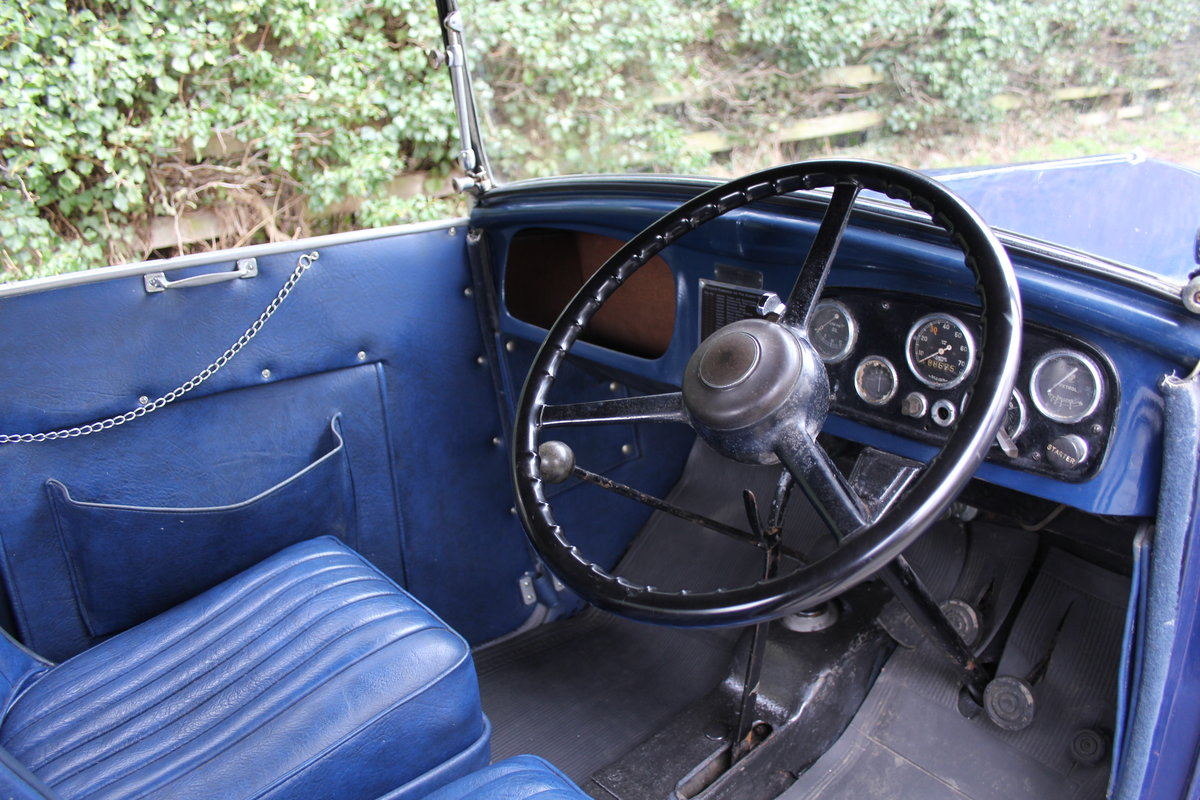 1937 Austin 7 Opal Two Seat Tourer - Very Rare Model For Sale (picture 7 of 16)