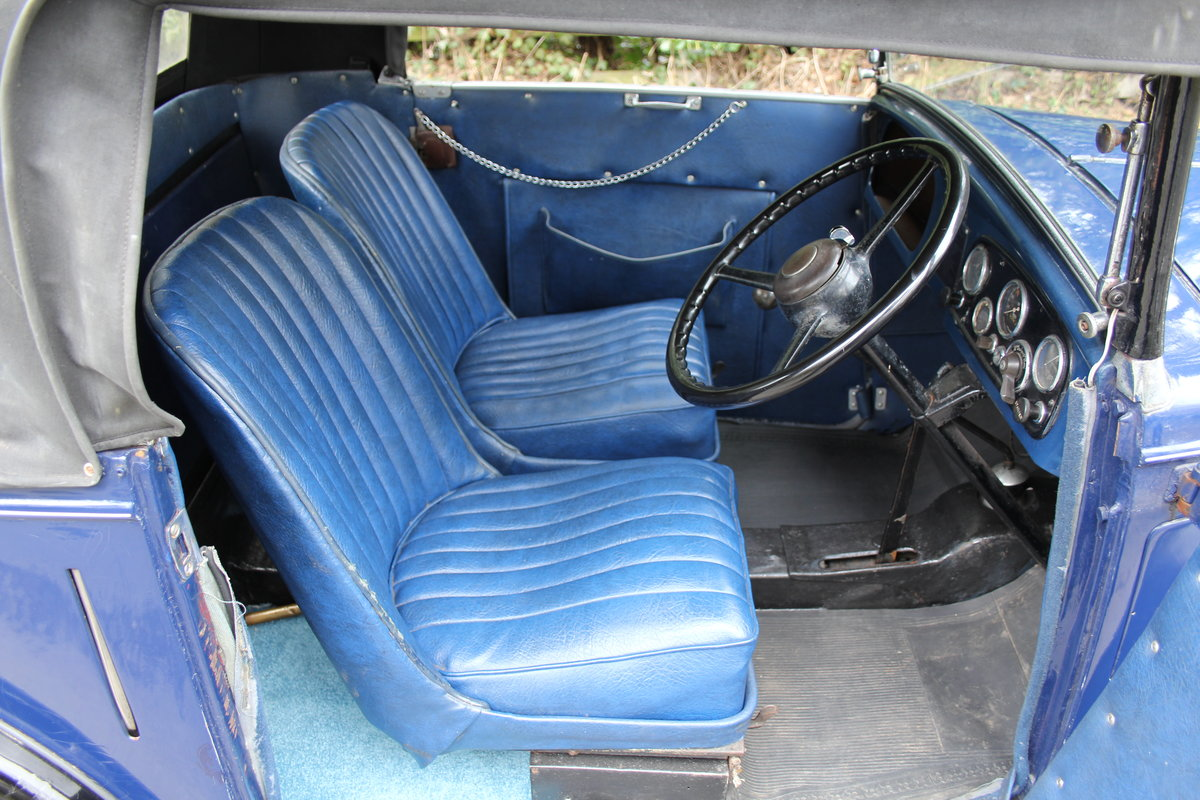 1937 Austin 7 Opal Two Seat Tourer - Very Rare Model For Sale (picture 8 of 16)