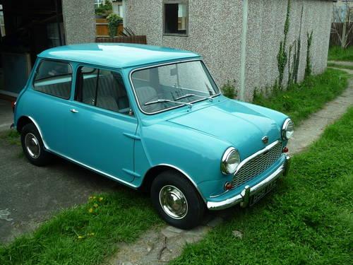 b56baea3102818 ... 1962 MK1 Austin Mini Seven Delux - Restored £6250 SOLD (picture 1 of 6  ...