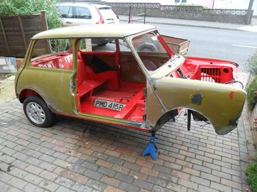 1977 Classic Austin Mini Clubman Saloon Sold Car And Classic