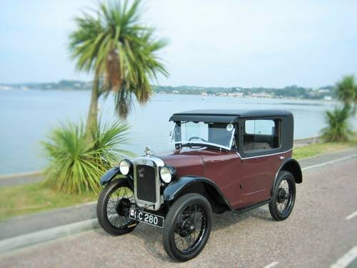 AUSTIN 7 B TYPE COUPE 1929 EXTREMELY RARE CAR ! For Sale (picture 1 of 6)