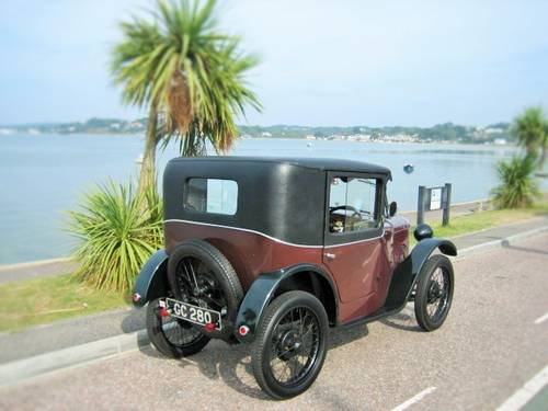 AUSTIN 7 B TYPE COUPE 1929 EXTREMELY RARE CAR ! For Sale (picture 2 of 6)