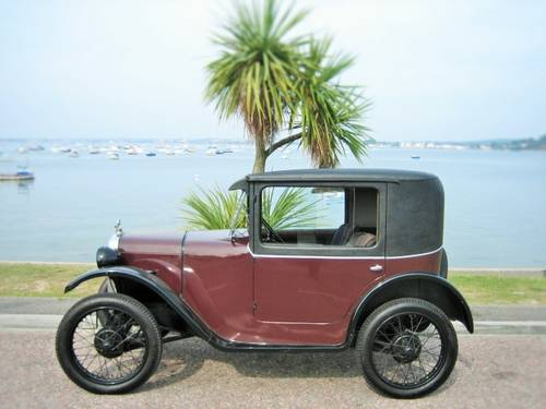 AUSTIN 7 B TYPE COUPE 1929 EXTREMELY RARE CAR ! For Sale (picture 3 of 6)