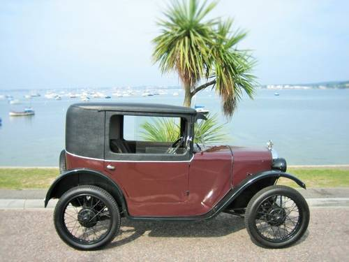 AUSTIN 7 B TYPE COUPE 1929 EXTREMELY RARE CAR ! For Sale (picture 4 of 6)