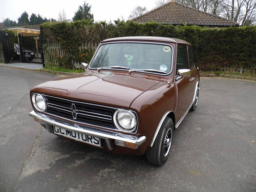 1979 Austin Mini Clubman saloon in great condition For Sale (picture 1 of 6)