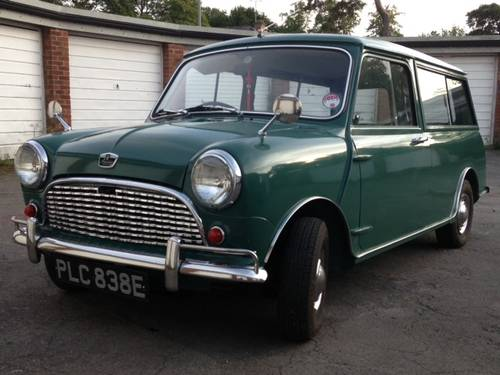 Superb Mini Countryman in almond green 1967 For Sale (picture 2 of 6)