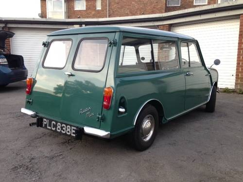 Superb Mini Countryman in almond green 1967 For Sale (picture 3 of 6)