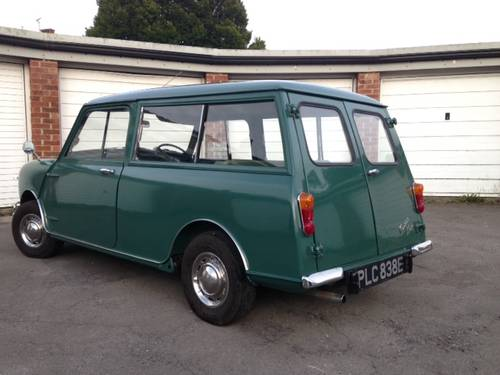 Superb Mini Countryman in almond green 1967 For Sale (picture 4 of 6)
