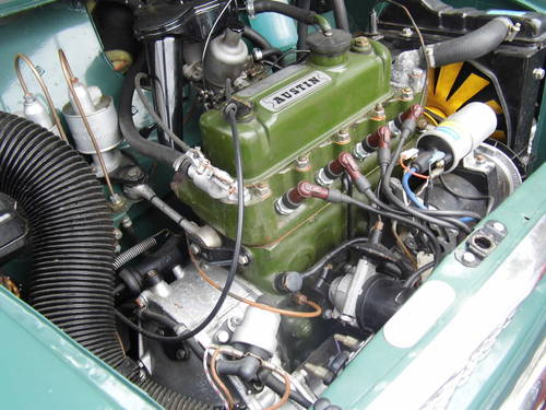 Superb Mini Countryman in almond green 1967 For Sale (picture 5 of 6)