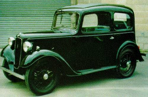 1936 Austin 7 Ruby, Reg BZ 4542... Does anyone know where it is? For Sale (picture 1 of 1)