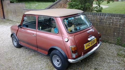 Austin Mini 1100 Special 1979 Sold Car And Classic