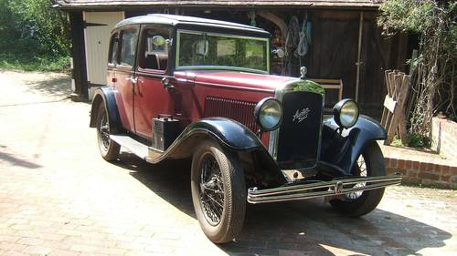 1931 Austin Light 12/6 Harley Saloon for sale in Hampshire.. SOLD (picture 1 of 6)