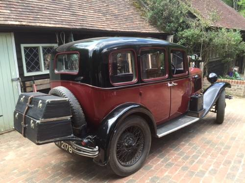1931 Austin Light 12/6 Harley Saloon for sale in Hampshire.. SOLD (picture 3 of 6)