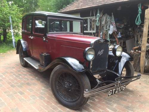 1931 Austin Light 12/6 Harley Saloon for sale in Hampshire.. SOLD (picture 6 of 6)