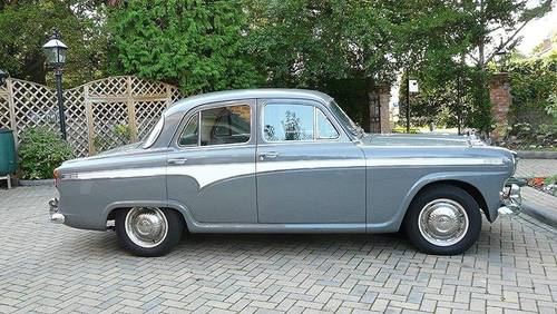 1957 AUSTIN A95 SIX WESTMINSTER AUTO SALOON (p/s) SOLD (picture 1 of 6)