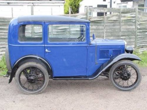 1932 AUSTIN Seven Box Saloon For Sale by Auction (picture 1 of 1)