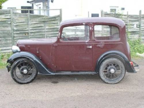 1937 AUSTIN Seven Ruby For Sale by Auction (picture 1 of 1)