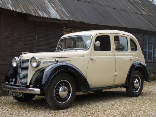 1947 AUSTIN 10 GS 1 SALOON - BEAUTIFUL 70 YEAR OLD AUSTIN !!  SOLD (picture 3 of 6)