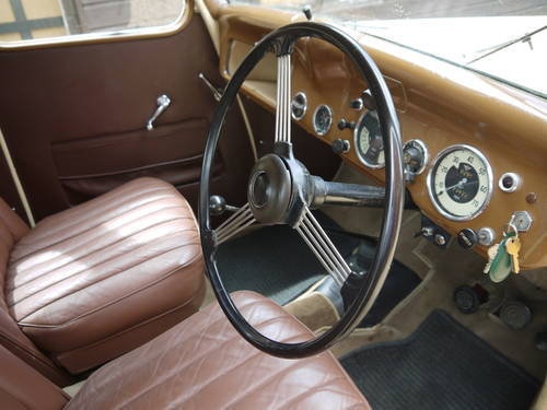 1947 AUSTIN 10 GS 1 SALOON - BEAUTIFUL 70 YEAR OLD AUSTIN !!  SOLD (picture 4 of 6)