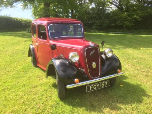 1938 Austin Big Seven Sixlite for sale in Hampshire... SOLD (picture 1 of 6)