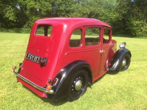 1938 Austin Big Seven Sixlite for sale in Hampshire... SOLD (picture 3 of 6)