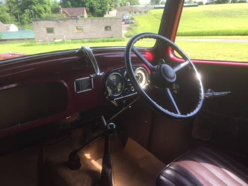 1938 Austin Big Seven Sixlite for sale in Hampshire... SOLD (picture 5 of 6)