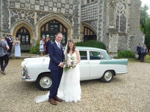 1959 CHAUFFEURED AUSTIN A55 CAMBRIDGE WEDDING CAR For Hire (picture 2 of 6)