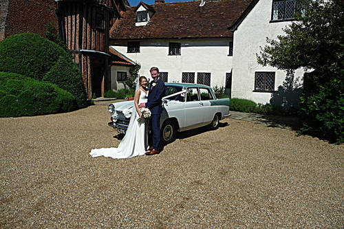 1959 CHAUFFEURED AUSTIN A55 CAMBRIDGE WEDDING CAR For Hire (picture 4 of 6)