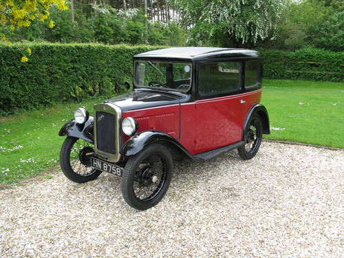 1932 Austin 7 RN Box Saloon SOLD (picture 1 of 6)