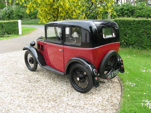 1932 Austin 7 RN Box Saloon SOLD (picture 2 of 6)