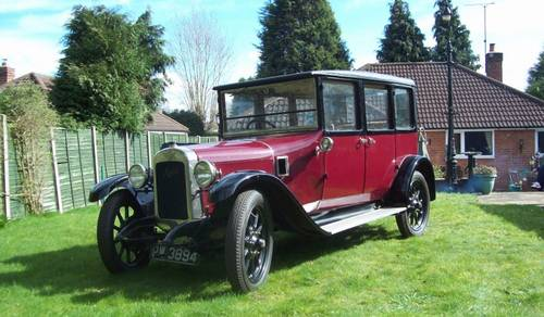1924 Austin 12/4 Windsor Saloon for auction June 17th SOLD by Auction (picture 1 of 6)