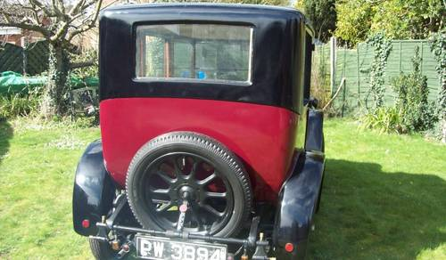 1924 Austin 12/4 Windsor Saloon for auction June 17th SOLD by Auction (picture 2 of 6)