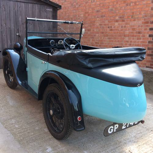 1931 Austin 7 Boat Tail for sale by auction on June 17th SOLD (picture 1 of 4)