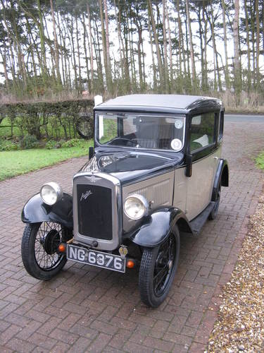 1934 Austin 7 RP Box Saloon SOLD (picture 6 of 6)