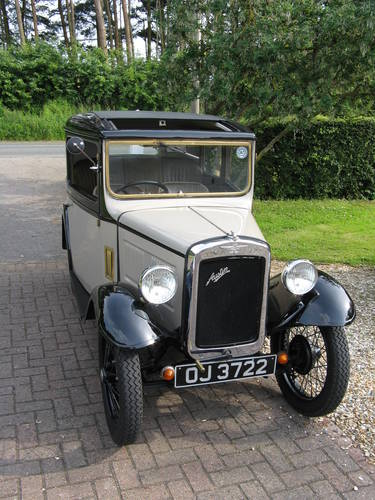 1932 Austin 7 RP Box Saloon SOLD (picture 1 of 6)