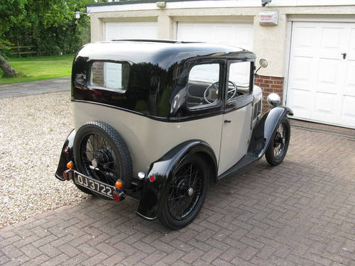 1932 Austin 7 RP Box Saloon SOLD (picture 2 of 6)