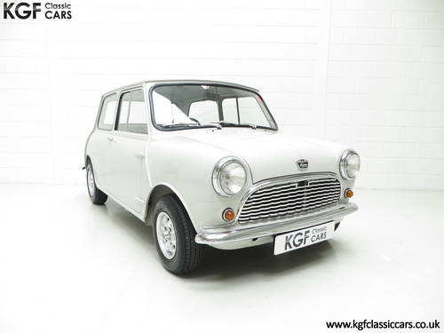 A 1959 Austin Seven Basic Mini Saloon in Show Condition. SOLD (picture 1 of 6)