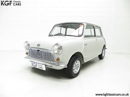 A 1959 Austin Seven Basic Mini Saloon in Show Condition. SOLD (picture 2 of 6)